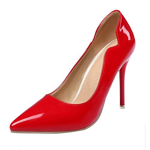 Femmes Haut Escarpins DE CM Bout Rouge Talon à Aiguille UH et Elégantes Luxueuses Pointu Chic 10 Sexy et 5dCxAqq0w