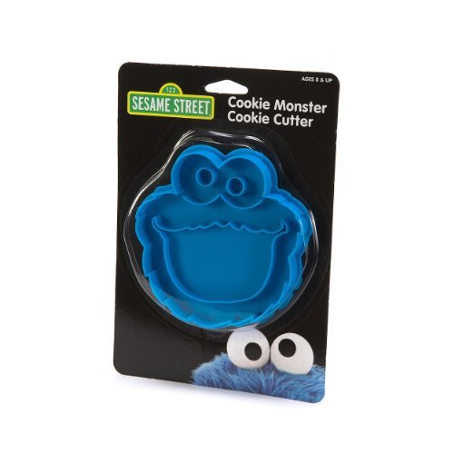 1-X-Sesame-Street-4-Cookie-Monster-Cookie-Cutter-Stamp