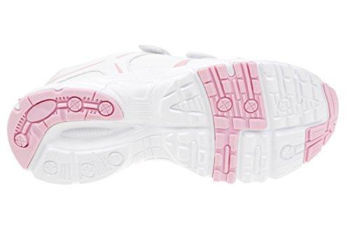 gibra - Zapatillas de Material Sintético para mujer blanco/rosa
