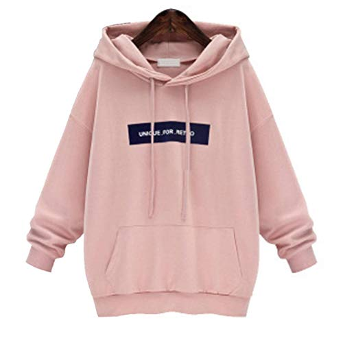 Zlolia Fashion Women's Long Sleeve Hoodie Sweatshirt Jumper Letter Pullover Tops Blouse by Zlolia-Blouses (Image #3)