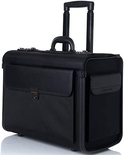Alpine Swiss Rolling Briefcase Attache