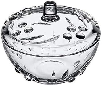 Sugar Bowl Candy Box Glass 5.50