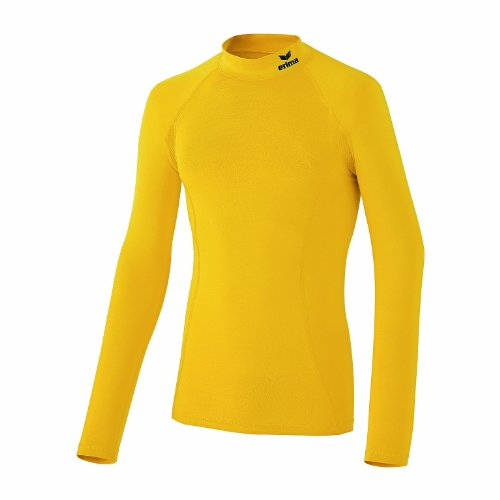 erima - Camiseta de running para mujer, tamaño XS amarillo