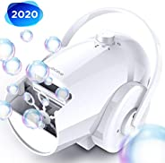 Bubble Machine Automatic Bubble Blower - Portable Bubble Maker for Kids and Babies of 18/24/36 Months with 2 S