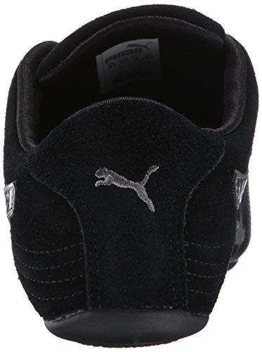 PUMA Patent V2 Soleil Gray Sneaker Black Women's Suede Steel rIqrxERw