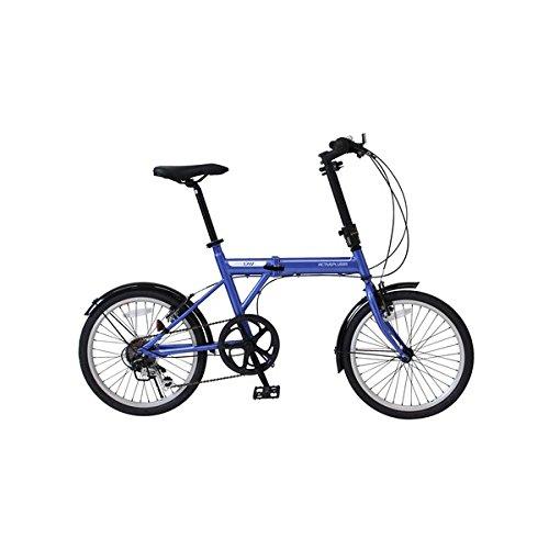 折畳自転車 ACTIVEPLUS911 ノーパンクFDB206SF MG-G206NF-BL【代引不可】 生活用品 インテリア 雑貨 自転車(シティーサイクル) 折り畳み自転車 top1-ds-1998696-ah [簡素パッケージ品] B07BK2T41L