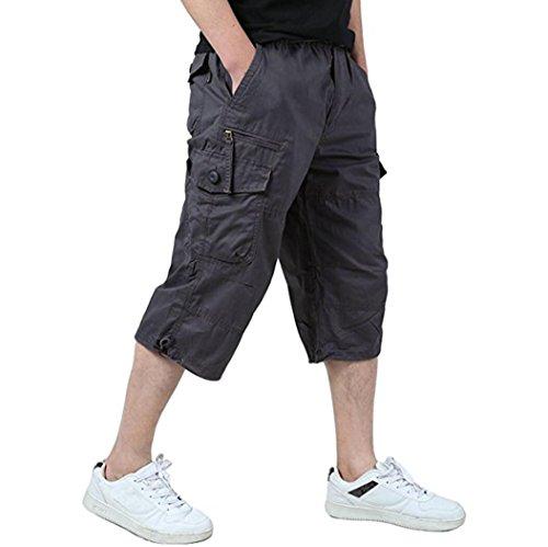 Amoystyle Elastic Waist Relaxed Shorts product image