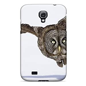 Galaxy S4 Owl Flying Tpu Silicone Gel Case Cover. Fits Galaxy S4