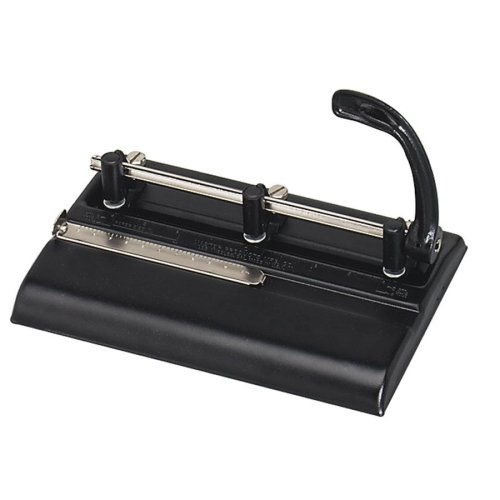 Punch Head Adjustable 32 Sheet (Martin Yale 5335B Master 5000 Series Hole Punch (Pack of 5), Black, 11/32
