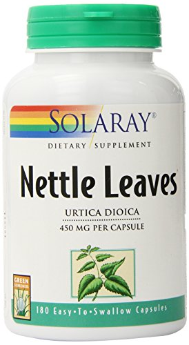 Solaray Nettle Leaves 450mg 180 Capsules