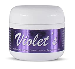 Violet\'s Gem and Jewelry Cleaner PROFESSIONAL Tarnish Removing Cream