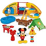 Fisher-Price Mickey's Camping Adventure Playset Bonus Includes Mickey's Camper and Tent