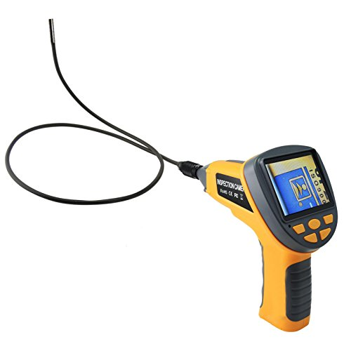 1m Cable Industrial Video Inspection Borescope 3.5 Endoscope with 3.9mm Camera by Gain Express