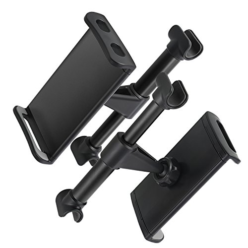 360 Rotation Car Headrest Mount Phone Tablet Car Headrest Grip Mount Stand Cradle Bracket Holder For IPad Samsung Galaxy Tabs Amazon Kindle Fire 4 11 Inch Smartphones And Tablets