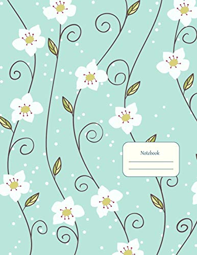 Notebook: Daisy Pattern Design - School, College, Work, Business Notes,  Personal Journaling, Planning, Hand Lettering    Perfect Gift / Present  (120