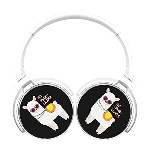 6Dian No Prob Llama Headphones Over-ear Stereo Fold Wireless