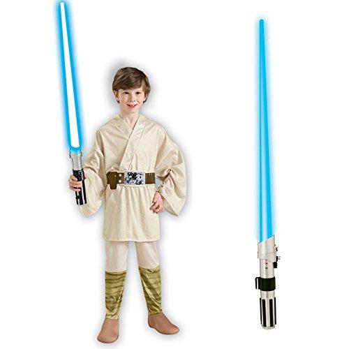 Star Wars Luke Skywalker Child M Costume Bundle Set ()
