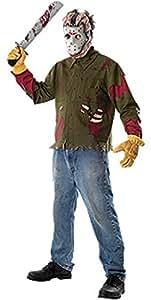 Disfraz de Jason Viernes 13 Adulto Cualquier día