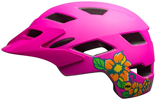 Bell-Sidetrack-Youth-MIPS-Bike-Helmet-Kids-Matte-Pink-Blossom