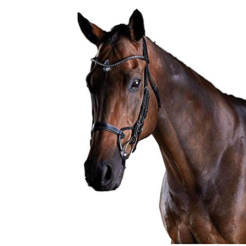 (Collegiate Weatherbeeta, Comfitec Crystal Bridle Black Full )