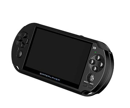 Amazon.com: Consola de videojuegos portátil X9 retro ...