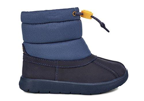 Snow Boot, Navy, 6 M US Toddler ()