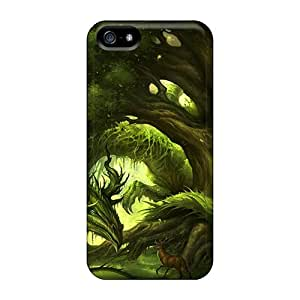 High Impact Dirt/shock Proof Case Cover For Iphone 5/5s (nature Dragon)