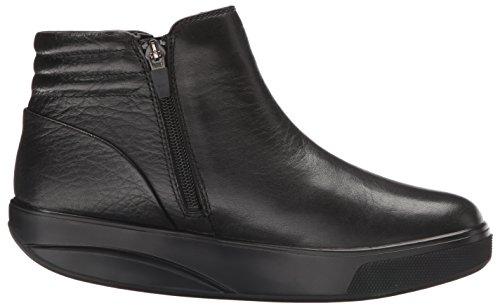 MBT Damen Jambo 6s Zipper Boot W Hohe Sneaker, Schwarz Schwarz (03G)
