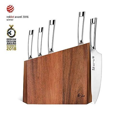Cangshan N1 Series 59205 6-Piece German Steel Forged Knife Block - Sale: $152.97 USD (15% off)