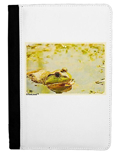 TooLoud Bullfrog in Watercolor Ipad Mini Fold Stand Case - Black ()