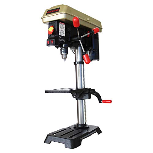 BUCKTOOL 10 In. Drill Press With 1/2 In. Chuck & LED Light