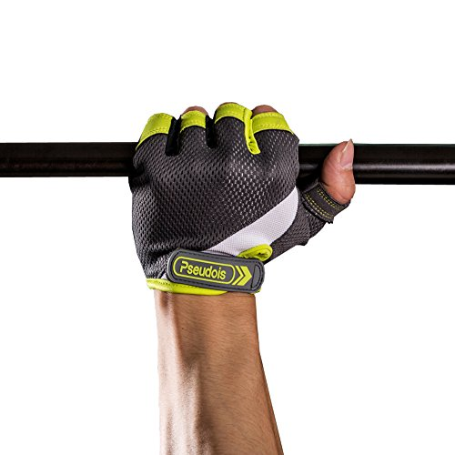 Men's Weight Lifting Gloves for Gym Workout, CrossFit, Weightlifting, Powerlifting, and Running —Pair