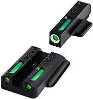 TFX Tritium and Fiber-Optic Xtreme Handgun Sights for Ruger Pistols