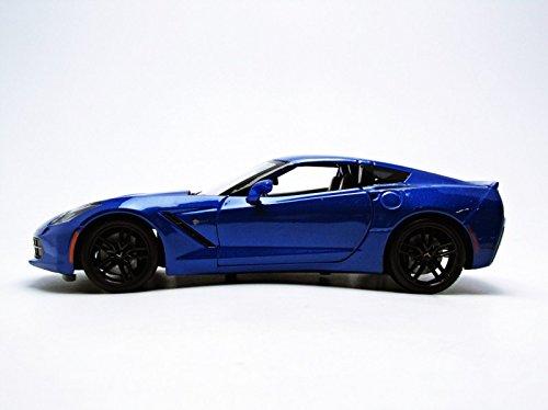 Maisto 2014 Chevrolet Corvette Stingray Z51 Blue 1/18 by 31677