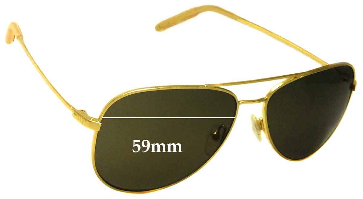 SFX Replacement Sunglass Lenses fits Mosley Tribes Raynes 59mm Wide