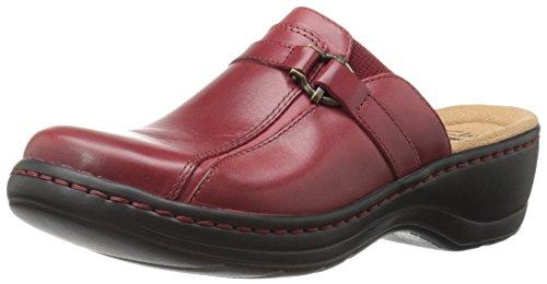 Clarks Hayla Marina mula Red Leather