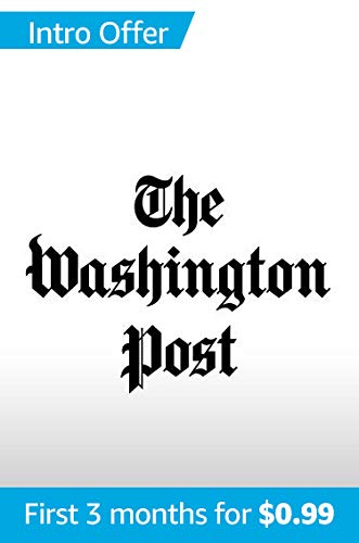 The Washington Post for Kindle (Ad-Free) (Best Nyt Subscription Deal)