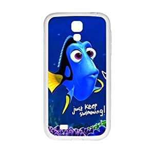 Lovely crystal blue fish Cell Phone Case for Samsung Galaxy S4