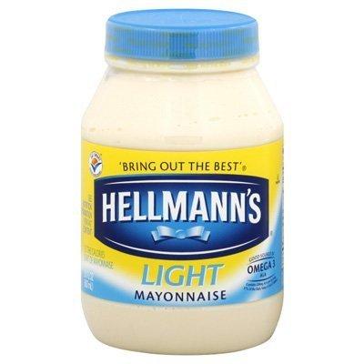 Hellmann's Light Mayo, 30oz (4 pack) by Hellmann's