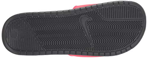 Nike Men's Benassi Just Do It Athletic Sandal, red orbit/black - anthracite, 8 Regular US by Nike (Image #3)