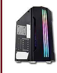 Pc Gamer Intel Core i3 6ª, 16GB Ram DDR4, RX 580 8GB, HD SSD 480GB, Fonte 500w, Gabinete com LED