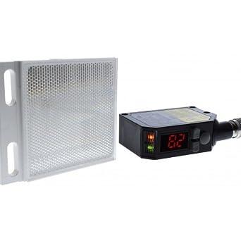 Optex DR-Q150TCP(E) Transparent Detection Retro Laser PNP M8 4: Amazon.com: Industrial & Scientific