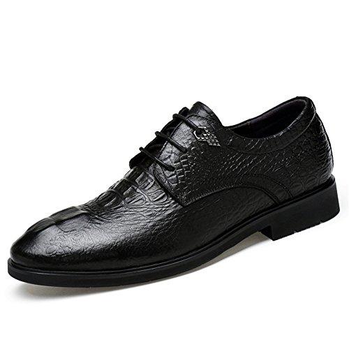 Da In Classico Stringate Oxford Scarpe Scarpe Moderno Modello Coccodrillo Uomo Di Pelle Toptak 18YqIZ7