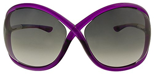 Tom Ford Sunglasses - Whitney / Frame: Crystal Purple Lens: Smoke - Sunglasses Purple Tom Ford