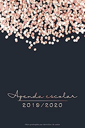 2019 2020 Agenda Escolar: El Calendario Semestral y Planificador de Estudios | Agenda 2019 - 2020 para el Nuevo año Académico