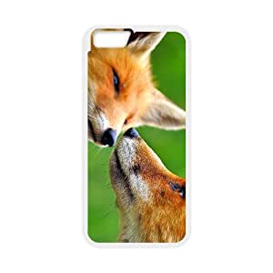 """WJHSSB Cover Shell Phone Case Fox For iPhone 6 Plus (5.5"""")"""