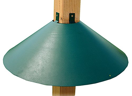 Woodlink Post Mount Squirrel Baffle Model BAF3GR