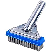 OVBBESS Swimming Pool Cleaning Brush Wire Brush Pool Bottom Wall Cleaning Brush Pool Cleaning Equipment