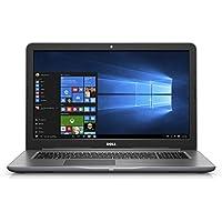 Dell i5767-5889GRY Inspiron Pro, 17.3 HD+ Laptop (Core i5-7200U, 8GB DDR4, 1TB Hard Drive, Windows 10 Pro), Gray
