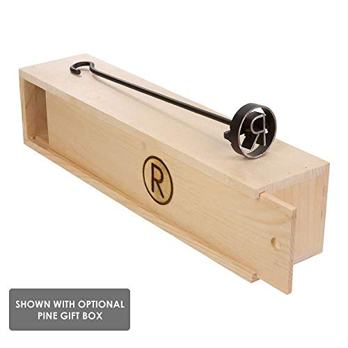 BBQ Fans Bear Branding Iron for Steak, Buns, Wood Leather Includes Pine Gift Box